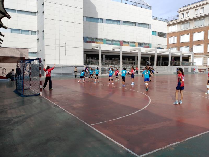 Balonmano de colegio